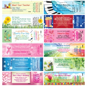 Event Admission Tickets